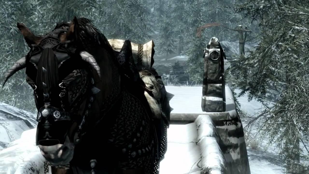 Skyrim: Horse Armour Mod