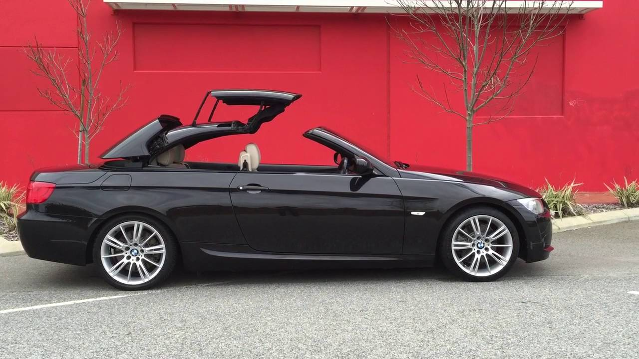 2010 Bmw 330d Convertible Roof Operation Youtube