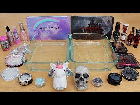 Dream vs Nightmare - Mixing Makeup Eyeshadow Into Slime Special Series 213 Satisfying Slime Video
