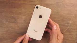 Mở hộp và thiết lập iPhone 8