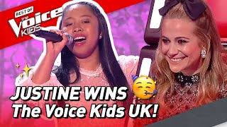 Download Justine's ROAD TO VICTORY in The Voice Kids UK 2020! 🤩