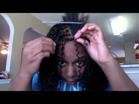 How To Micro Braids Twists with Crochet Braiding Hair