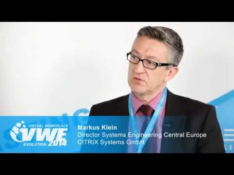 Interview mit CITRIX Systems GmbH- Virtual Workplace Evolution