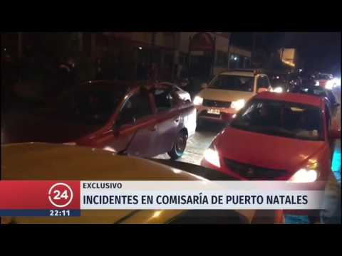 Incidentes en comisaría de Puerto Natales tras supuesta golpiza de Carabineros a joven