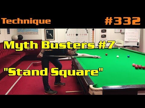 """Myth Busters #7: """"Stand Square"""""""