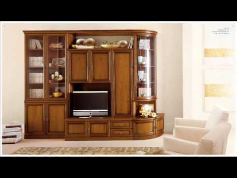 parete attrezzata soggiorno mexico gihome ® rovere. Soggiorni Classici Youtube