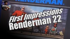 Renderman 22 | First impressions | hands on