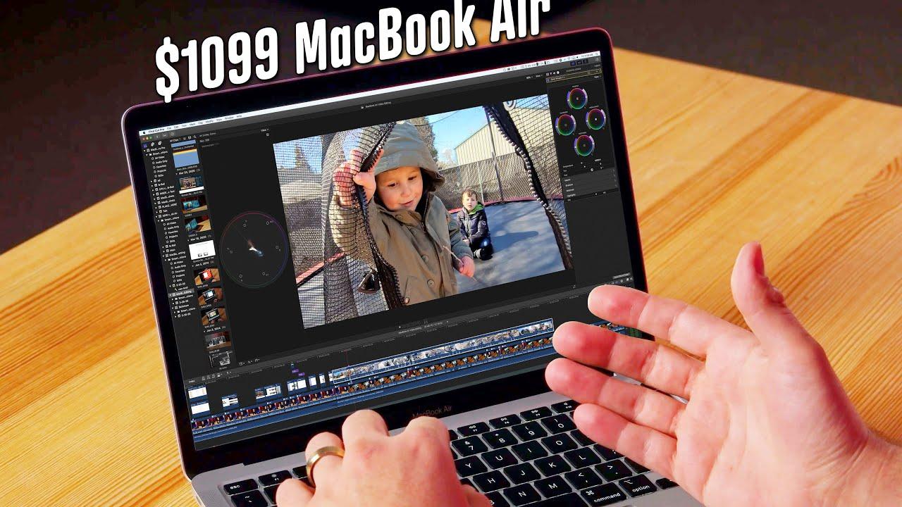 Is The 2020 Macbook Air Good For Video Editing Egpu Youtube