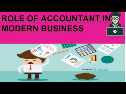 ROLE OF ACCOUNTANT IN MODERN BUSINESS PPT