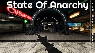 New Map Looks Amazing (Metro) | State Of Anarchy | Roblox