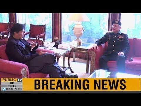 PM Imran Khan meets Naval Chief Admiral Zafar Mahmood Abbasi, professional matters discussed