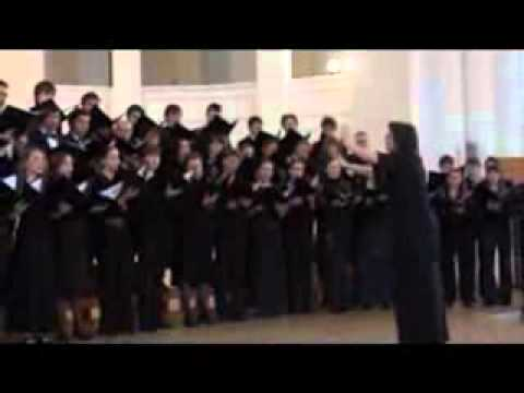 St. Petersburg State University Choir performs Chesnokov