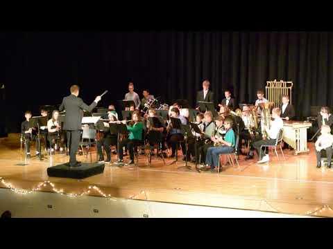 Newton Falls Junior High School Concert Band - Jingle Bell Rock (12/2/17)