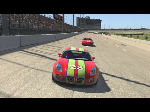 43 iRacing - Sim-Lab Pontiac Solstice Texas [No need fast car to win, failed in the pit]