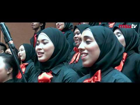 #MSUkonvo21 | MSU Choir sings Dirgahayu