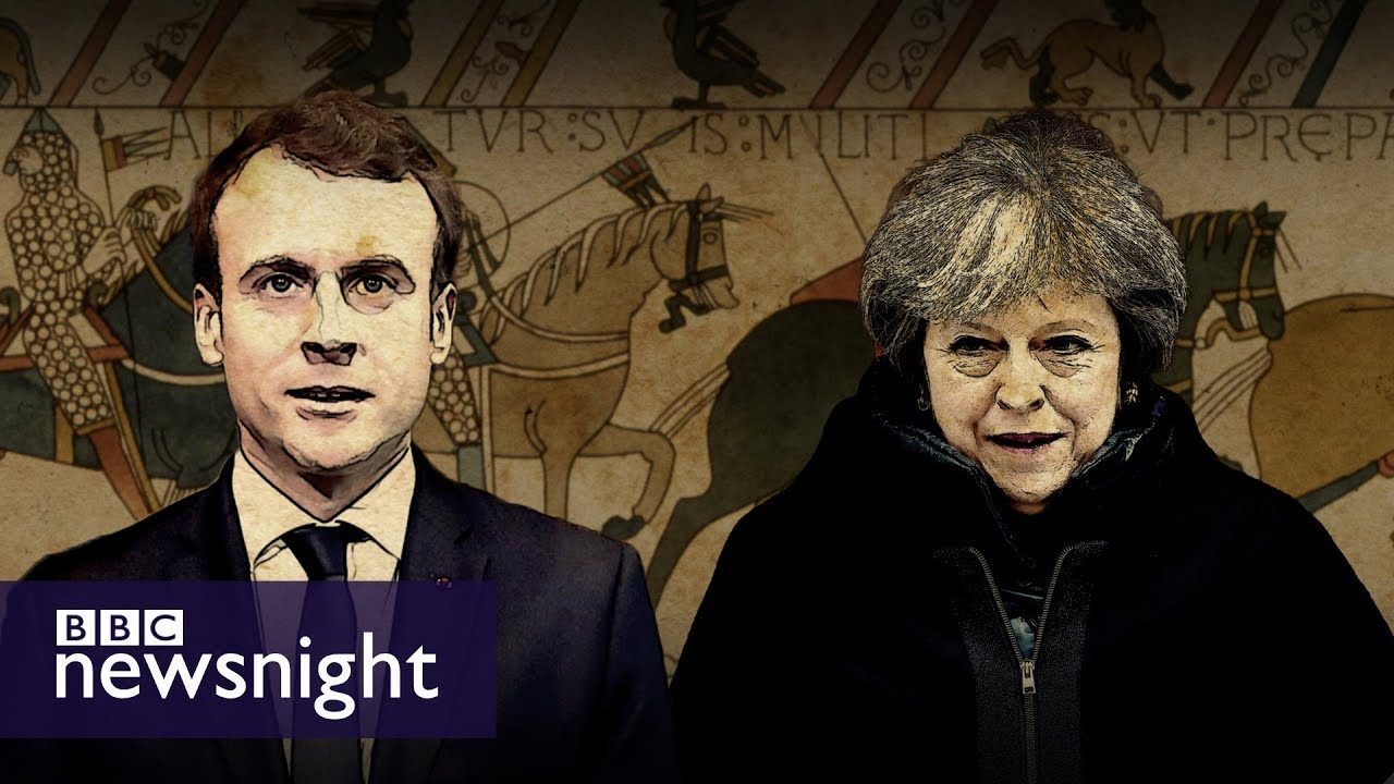 The Bayeux Tapestry And Anglo French Relations Bbc Newsnight Youtube