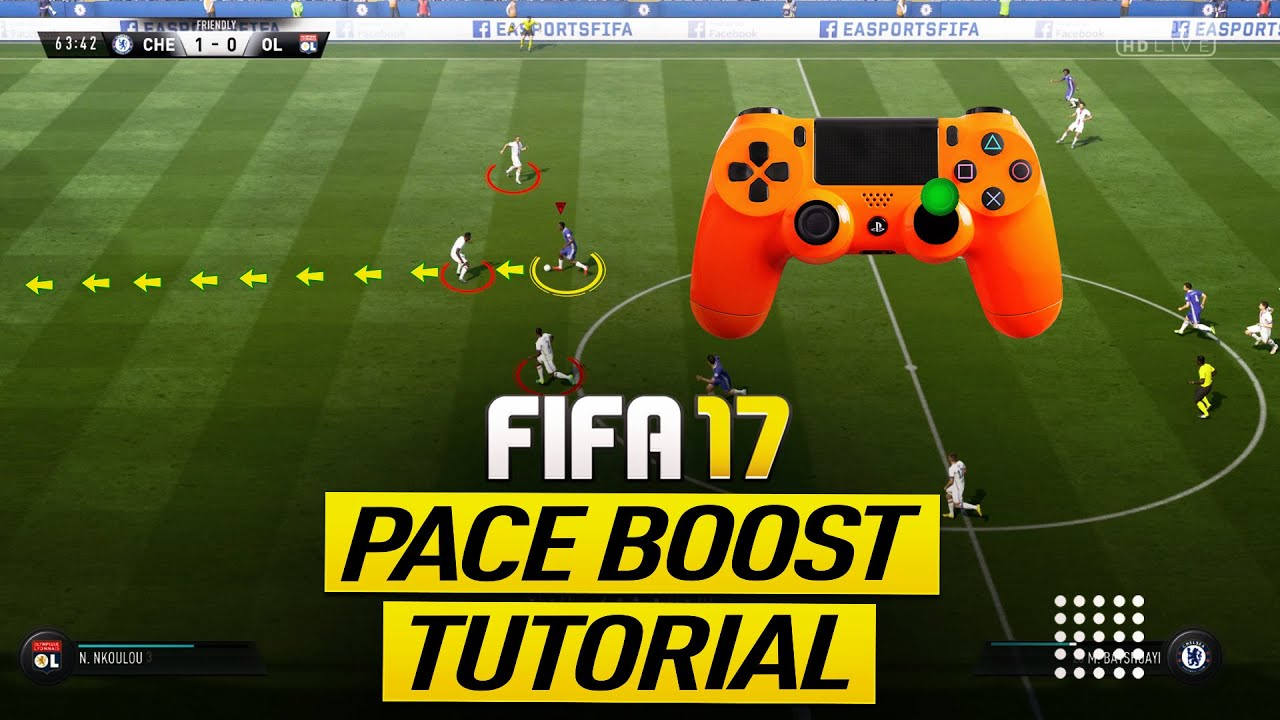 FIFA 17 PACE BOOST TUTORIAL - HOW TO SPRINT ULTRA FAST - BEST ...
