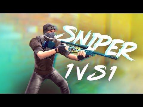 Critical Ops - Pro Sniper 1 vs 1 - TRG-22