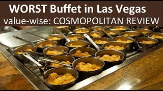The WORST VALUE Buffet in Las Vegas? Cosmopolitan Wicked Spoon Full Video Review from top-buffet.com