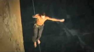 Dean Potter - Crazy tightrope walking, base jumping aerialist...