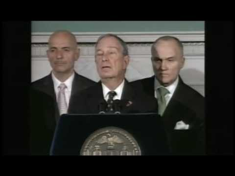 Occupy Wall Street: Mayor Bloomberg Eviction Press Conference (Raw Video)