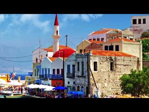 Zorba The Greek with Tourist attractions in Greece