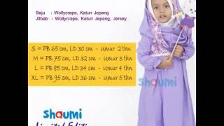 Baju Muslim Gamis Anak Perempuan Umur 2,3,4,5 Tahun