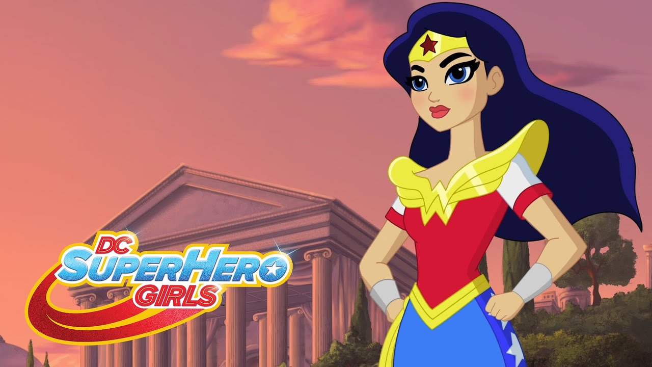 Hero na del mes wonder woman episodio 114 dc super - Female cartoon characters wallpapers ...