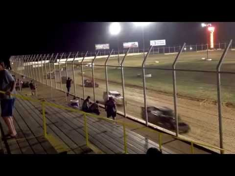 101 IMCA Southern Sport Mod - August 7, 2015 - A Feature Part 2