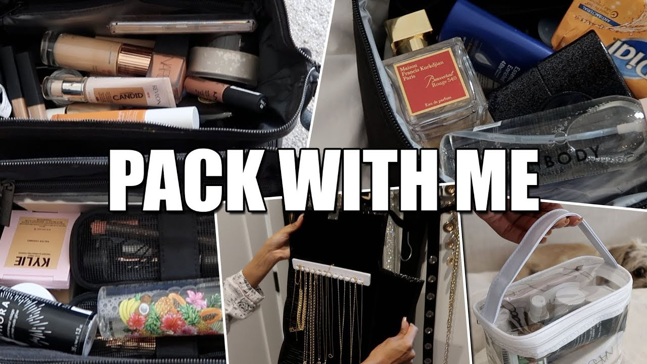 Pack With Me Tips On How I Pack For A Trip