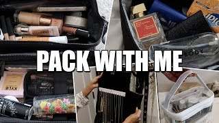 PACK WITH ME - TIPS ON HOW I PACK FOR A TRIP