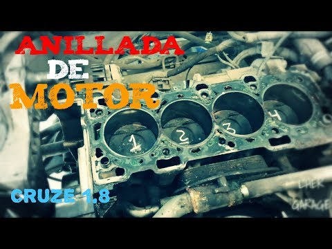 Anillada De Motor Al Cruze 1.8lts | Luis Her