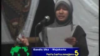 KSMB - Puisi - Gandis Uka-2, Mojokerto