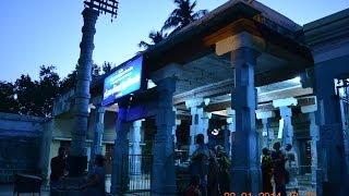 Namapurishwarar ~ (Shiva so called) as Nandi has Naamam on forehead / Alangudi - Pudukkottai