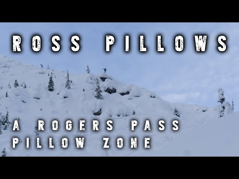 Ross Pillows // Rogers Pass // Backcountry Skiing