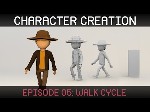 Blender Character Animation: Walk Cycle