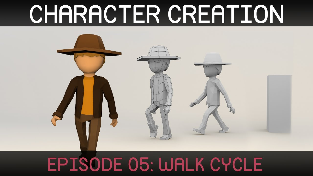 Blender Character Modeling Dvd : Blender character animation walk cycle doovi