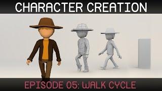 Blender Karakter Animasyon: Yürüyüş Döngüsü