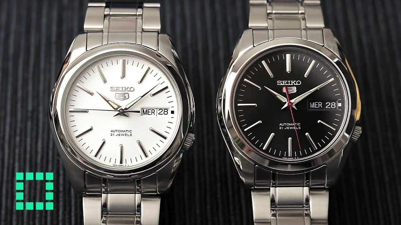 7db3d479f98 Seiko SNKL41   SNKL45  REVIEW  The Single BEST Seiko 5 EVER! - YouTube