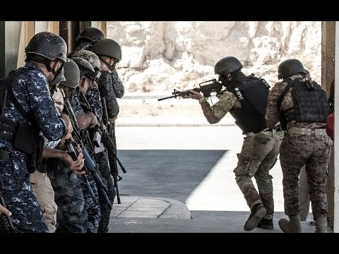 KASOTC - The military base in Jordan where special forces come to train