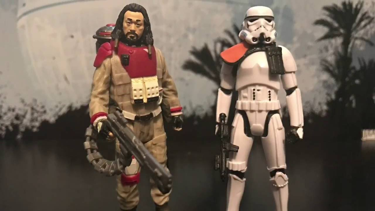 Star Wars Rogue One Baze Malbus /& Imperial Stormtrooper Figure 2-Pack New!