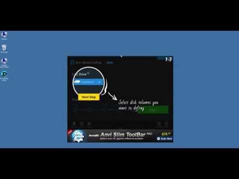ดาวน์โหลดและติดตั้งโปรแกรม Anvi Ultimate Defrag Free เครื่องมือเพิ่มประสิทธิภาพคอมพิวเตอร์