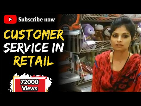 Customer Service in Retail Store