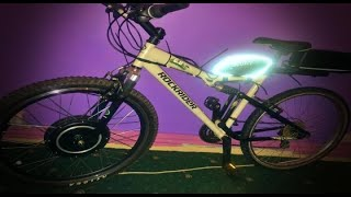 Voilamart 1000w 48V 16ah B'Twin RockRider 6.0 Electric Bike (Emtb) Conversion / Part ONE : The Build
