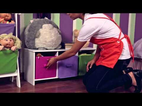 Home depot organizar cuarto de ni os youtube - Organizar habitacion ninos ...