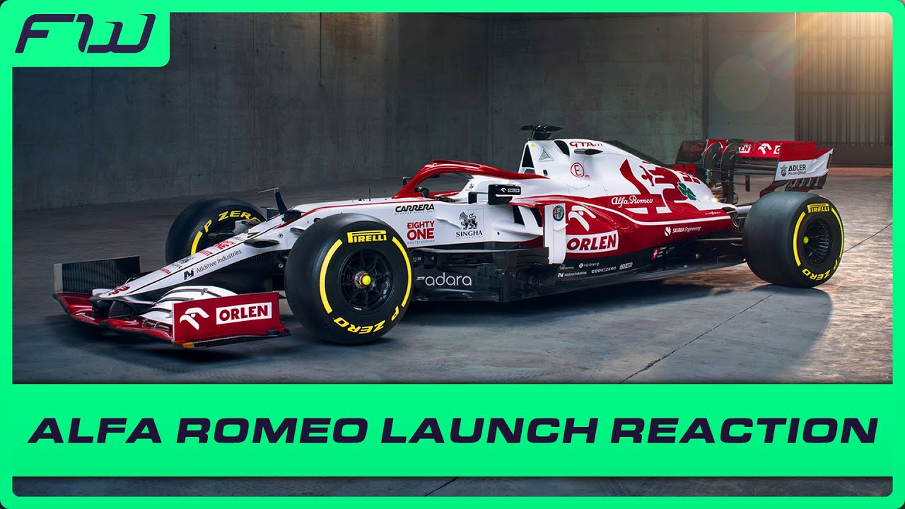 Alfa Romeo Unveils New 2021 Livery: Reaction