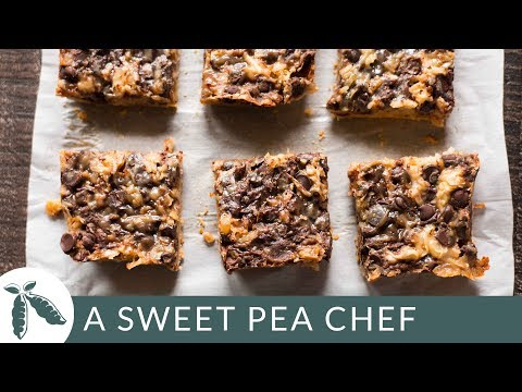 Paleo 7 Layer Bars   Healthy Holiday Sweets   A Sweet Pea Chef