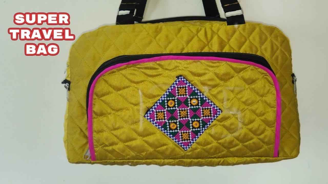 511928b48d31 super travel bag make at home diy like amazon