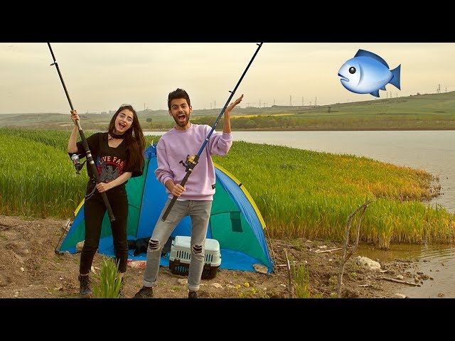 اول مرة نصيد سمك 🐟 | تخانقنا انا وياسمين