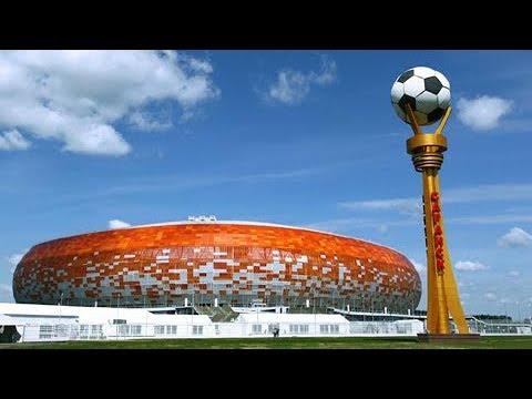 世界杯快讯 球迷嘉年华开放 世界杯热点燃萨兰斯克 20180613 | CCTV 体育
